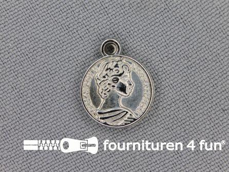 Munten 13mm zilver 10 stuks