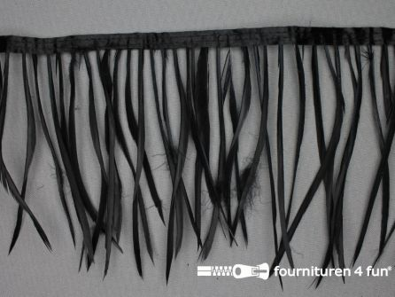 Hanenveren band 150mm zwart 95cm