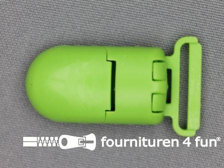 Kunststof clips 20mm lime groen