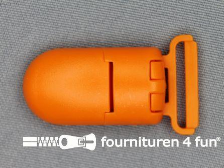 Kunststof clips 20mm oranje