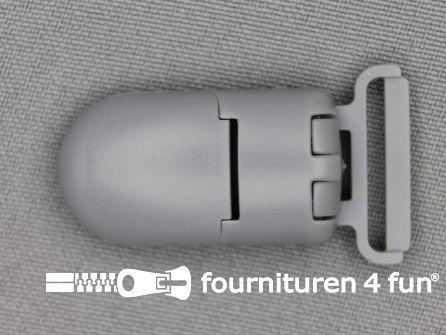 Kunststof clips 20mm licht grijs