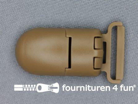 Kunststof clips 20mm beige