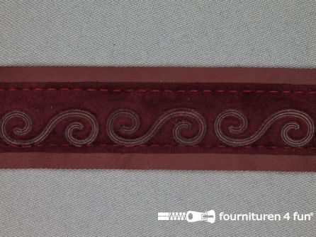 Skai band 30mm bordeaux