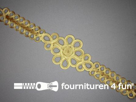 Brandenburger sierstuk 510x100mm goud