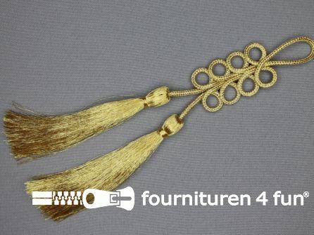 Brandenburger sierstuk 200x28mm goud