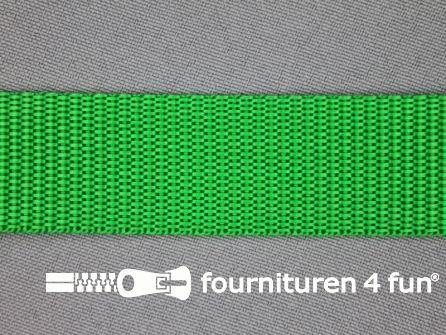 Parachute band 25mm gras groen