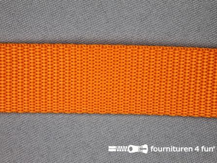Parachute band 25mm oranje
