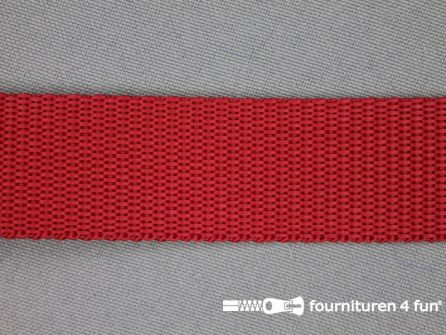 Parachute band 25mm rood