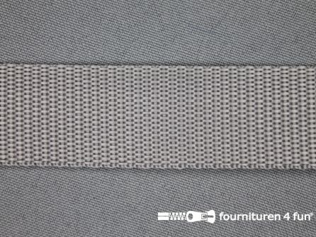 Parachute band 25mm grijs