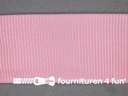 Parachute band 50mm roze