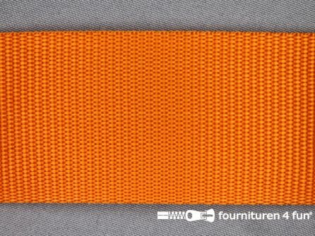 Parachute band 50mm oranje