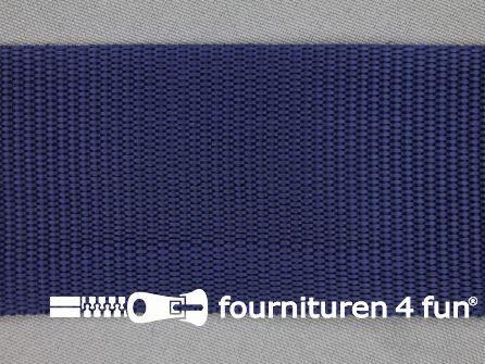 Parachute band 50mm donker blauw