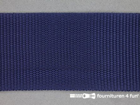 Rol 30 meter parachute band 50mm donker blauw