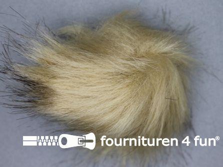 Bont pompon 8cm beige
