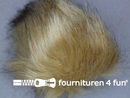 Bont pompon 12cm beige