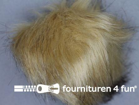 Bont pompon 15cm beige