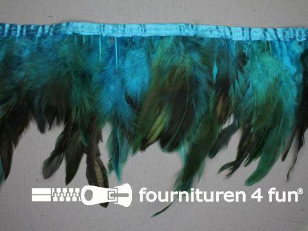 Two tone color verenband 160mm aqua blauw