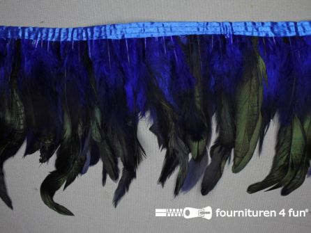 Two tone color verenband 160mm kobalt blauw
