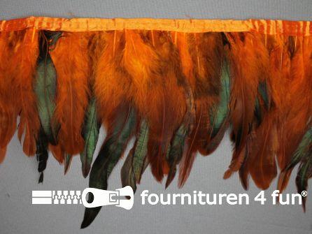 Two tone color verenband 160mm oranje