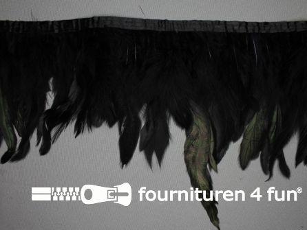 Two tone color verenband 160mm zwart