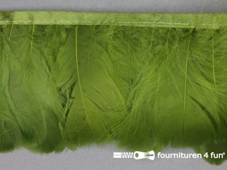 Verenband 90mm licht olijf groen