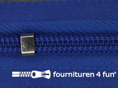 Niet deelbare blinde rits - verstelbaar - 4mm koren blauw