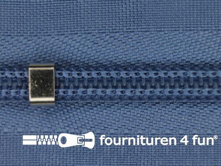 Niet deelbare blinde rits - verstelbaar - 4mm jeans blauw