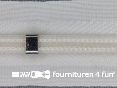 Niet deelbare blinde rits - verstelbaar - 4mm ecru