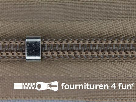 Niet deelbare blinde rits - verstelbaar - 4mm terra beige