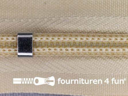Niet deelbare blinde rits - verstelbaar - 4mm havanna beige