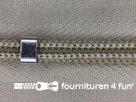 Niet deelbare blinde rits - verstelbaar - 4mm safari beige