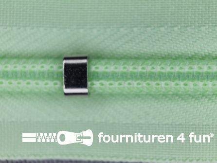 Niet deelbare blinde rits - verstelbaar - 4mm pistache groen