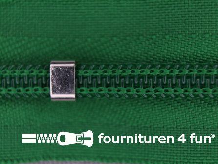 Niet deelbare blinde rits - verstelbaar - 4mm gras groen