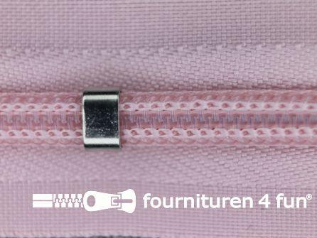 Niet deelbare blinde rits - verstelbaar - 4mm baby roze
