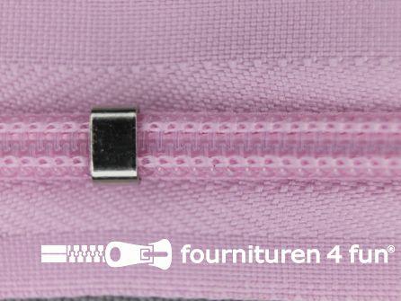 Niet deelbare blinde rits - verstelbaar - 4mm roze