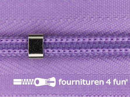 Niet deelbare blinde rits - verstelbaar - 4mm lila