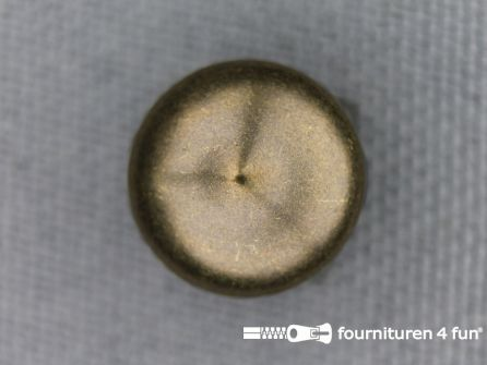 Studs 12mm bol rond brons 50 stuks