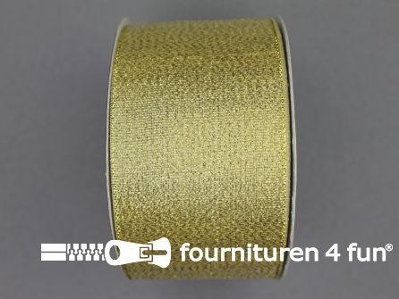 Goud lint 50mm 25 meter
