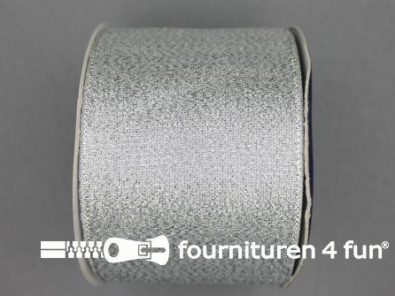 Zilver lint 64mm 25 meter
