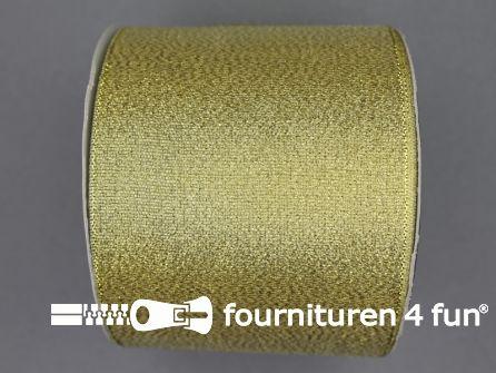 Goud lint 76mm 25 meter
