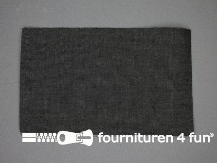 Reparatiedoek 12x40cm jeans zwart