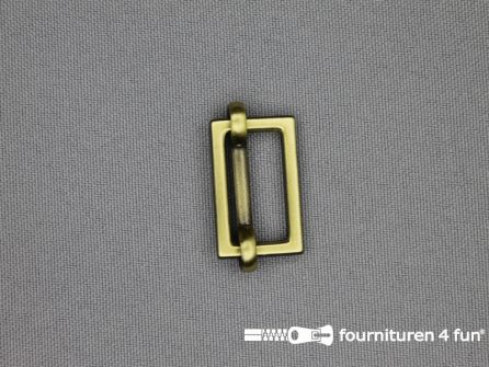 Schuifgesp 20mm brons
