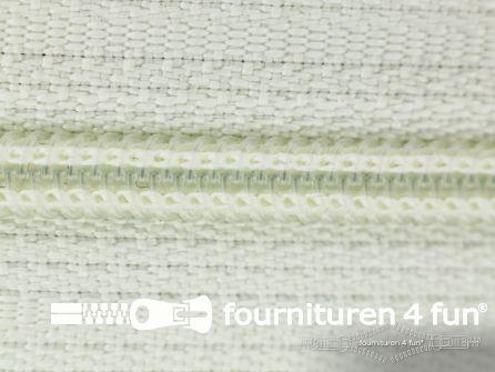 Niet deelbare nylon rits 3mm off white