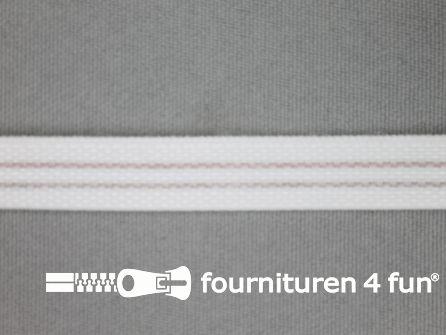 Baleinenband 10mm kunststof wit