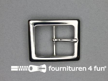 Metalen gesp 29mm zilver