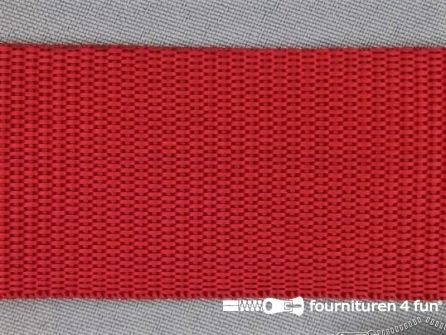 Rol 30 meter parachute band 50mm rood