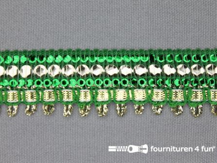 Party band 23mm gras groen