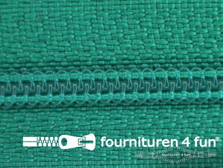 Niet deelbare nylon rits 3mm emerald