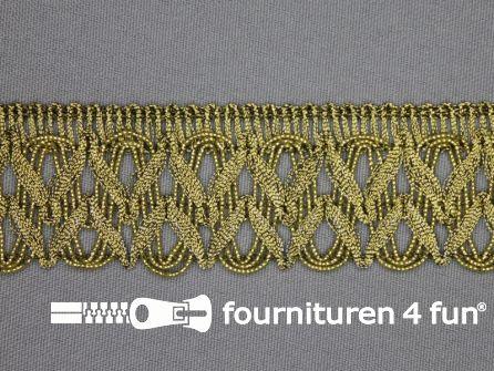 Goud band 34mm antique goud