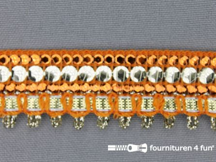 Party band 23mm oranje